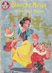 Votre série Mickey (2e série) - Albums Filmés ODEJ -25- Blanche Neige et les Sept Nains