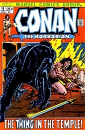 Conan the Barbarian Vol 1 (Marvel - 1970) -18- The thing in the temple