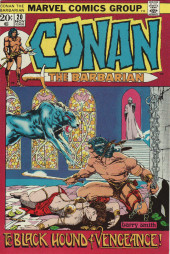 Conan the Barbarian (1970) -20- The black hound of vengeance!