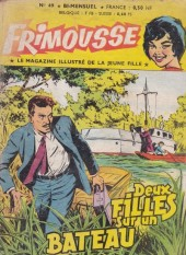 Frimousse -49- Deux filles sur un bateau