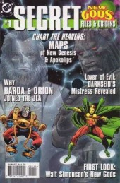 New Gods Secret Files (1998) -1- New Gods Secret Files& Origins