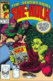 Sensational She-Hulk (The) (1989) -2- Attack of the terrible toad men (or froggy came cavortin')