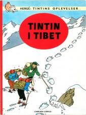 Tintin (en langues étrangères) -20Danois- Tintin i Tibet