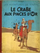 Tintin (Historique) -9B05- Le crabe aux pinces d'or