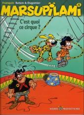 Marsupilami -15Ind- C'est quoi ce cirque !?