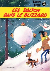Lucky Luke -22a84- Les Dalton dans le blizzard