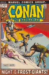 Conan the Barbarian Vol 1 (Marvel - 1970) -16- The frost giant's daughter