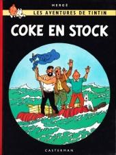 Tintin (Historique) -19C3bis- Coke en stock