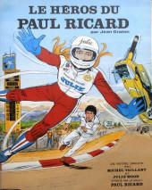 Michel Vaillant -02Pub- Le héros du Paul Ricard