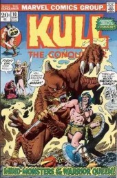 Kull the Conqueror (1971) -10- Sword of the white queen!