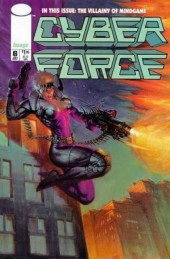 Cyberforce (1993) -6- Assault with a deadly woman, part 3