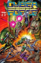 Cyberforce (Image Comics - 1993) -7- Assault with a deadly woman, part 4