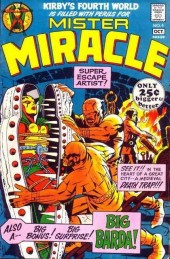 Mister Miracle (DC comics - 1971) -4- The closing jaws of death!