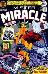 Mister Miracle (DC comics - 1971) -5- Murder machine!