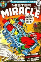 Mister Miracle (DC comics - 1971) -6- Funky flashman!