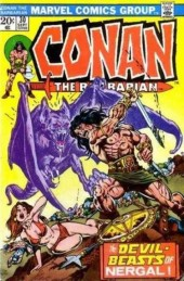 Conan the Barbarian Vol 1 (Marvel - 1970) -30- The Hand of Nergal!