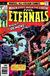 The eternals Vol.1 (Marvel comics - 1976) -4UK- The night of the demons!