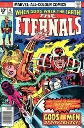 The eternals Vol.1 (Marvel comics - 1976) -6UK- Gods and men at city college!