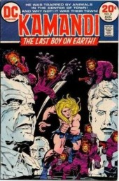 Kamandi, The Last Boy On Earth (1972) -8- Beyond reason