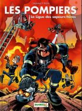 Les pompiers -8a- La ligue des sapeurs-héros