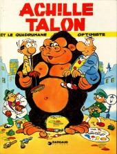Achille Talon -15a83- Achille Talon et le quadrumane optimiste