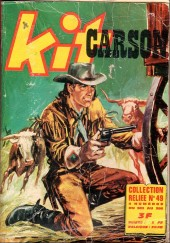 Kit Carson -Rec49- Collection reliée N°49 (du n°383 au n°386)