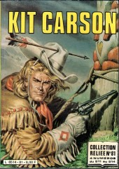Kit Carson -Rec81- Collection reliée N°81 (du n°511 au n°514)