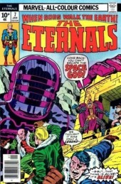 The eternals Vol.1 (Marvel comics - 1976) -7UK- The fourth host