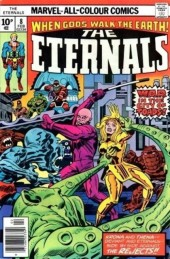 The eternals Vol.1 (Marvel comics - 1976) -8UK- The city of toads