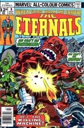 The eternals Vol.1 (Marvel comics - 1976) -9UK- The killing machine!!