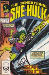Sensational She-Hulk (The) (1989) -6- Star truck