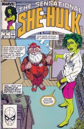 Sensational She-Hulk (The) (1989) -8- The world's greatest detective!