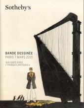 (Catalogues) Ventes aux enchères - Divers - Sotheby's - Bande dessinée, quelques duos