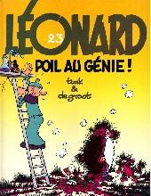 Léonard -23- Poil au génie !