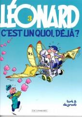 Léonard -3f2009- Léonard, c'est un quoi, déjà ?