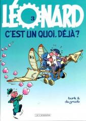Léonard -3g2011- Léonard, c'est un quoi, déjà ?