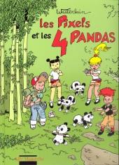 Les pixels -4- Les pixels et les 4 pandas