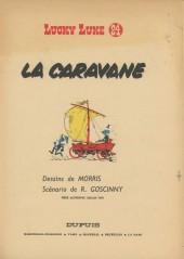 Lucky Luke -24TI- La caravane