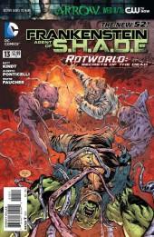 Frankenstein, Agent of S.H.A.D.E. (2011) -13- Rotworld, Secrets of Dead: Victor's Spoils