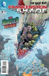 Frankenstein, Agent of S.H.A.D.E. (2011) -16- The Monster Bomb