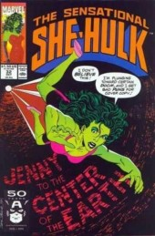 Sensational She-Hulk (The) (1989) -32- The hills have eyes, and mouths, and ears (and maybe noses...)