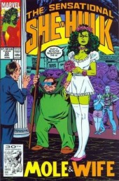 Sensational She-Hulk (The) (1989) -33- Mole & Wife