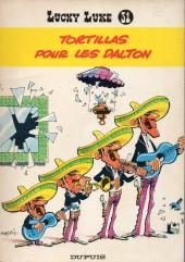 Lucky Luke -31a70- Tortillas pour les Dalton