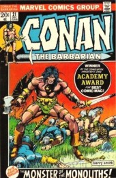 Conan the Barbarian Vol 1 (Marvel - 1970) -21- The monster of the monoliths!