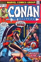 Conan the Barbarian Vol 1 (Marvel - 1970) -23- The shadow of the vulture!