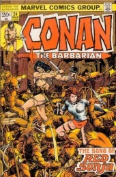 Conan the Barbarian Vol 1 (Marvel - 1970) -24- The Song of Red Sonja