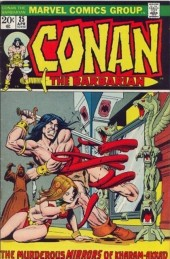 Conan the Barbarian Vol 1 (Marvel - 1970) -25- The Murderous Mirrors of Kharam-Akkad!