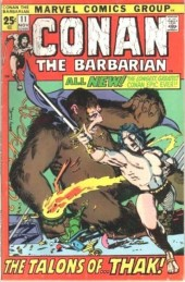 Conan the Barbarian Vol 1 (Marvel - 1970) -11- Rogues in the house