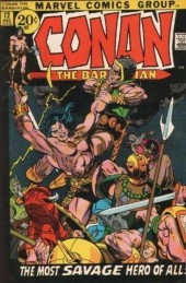 Conan the Barbarian Vol 1 (Marvel - 1970) -12- The dweller in the dark