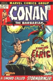 Conan the Barbarian Vol 1 (Marvel - 1970) -14- The Coming of Elric or A Sword Called... Stormbringer!